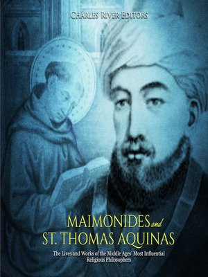 cover image of Maimonides and St. Thomas Aquinas