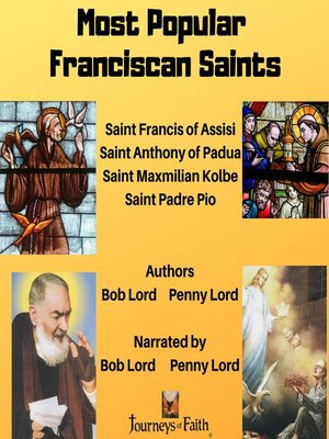 cover image of Most Popular Franciscan Saints