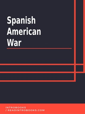 cover image of Spanish American War
