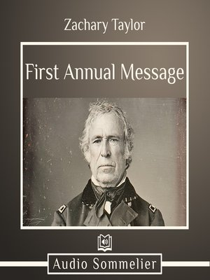 cover image of First Annual Message