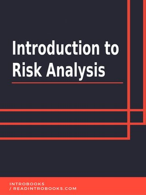 cover image of Introduction to Risk Analysis