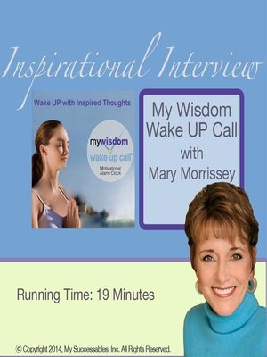 cover image of My Wisdom Wake UP Call