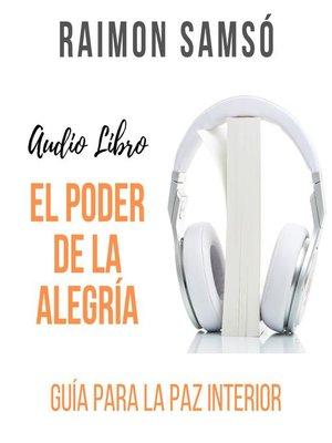 cover image of El poder de la Alegría