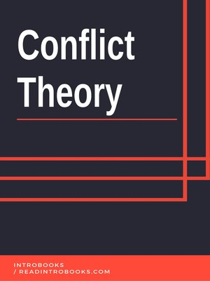 cover image of Conflict Theory