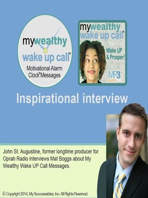 cover image of My Wealthy Wake UP Call, Inspirational Interview