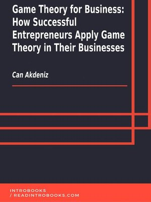 cover image of Game Theory for Business