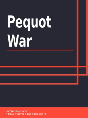 cover image of Pequot War