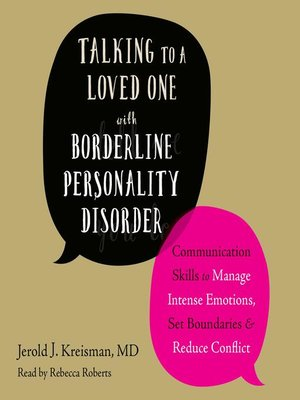 cover image of Talking to a Loved One with Borderline Personality Disorder
