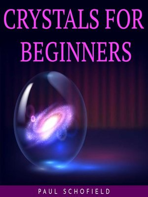 cover image of CRYSTALS FOR BEGINNERS