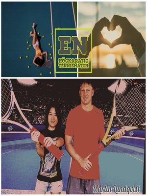 cover image of En högkaratig tennismatch