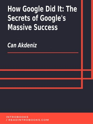 cover image of How Google Did It