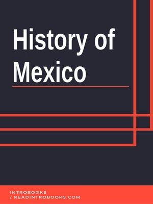 cover image of History of Mexico