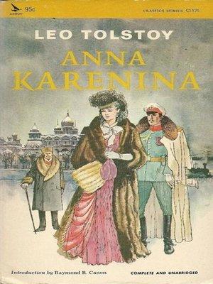 cover image of Anna Karenina--Leo Tolstoy