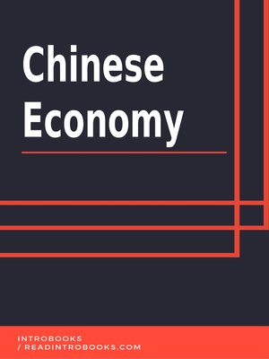 cover image of Chinese Economy