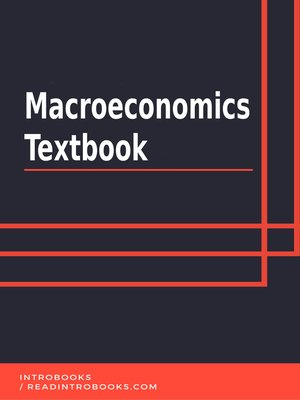 cover image of Macroeconomics Textbook