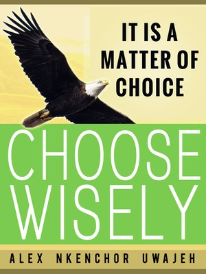 cover image of It is a Matter of Choice