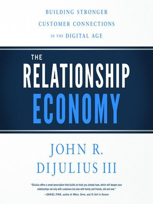 cover image of The Relationship Economy