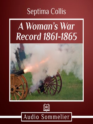 cover image of A Woman's War Record 1861-1865