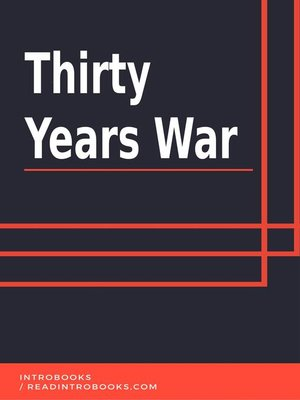 cover image of Thirty Years War