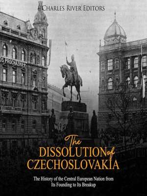 cover image of The Dissolution of Czechoslovakia