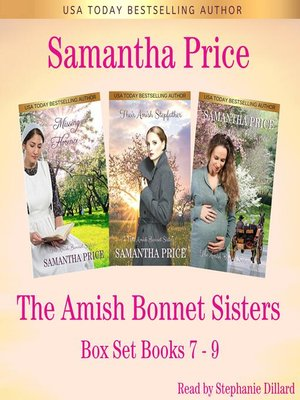 cover image of Amish Bonnet Sisters series Boxed Set (Volume 3) Books 7, The--9