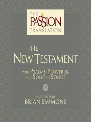 cover image of The Passion Translation New Testament