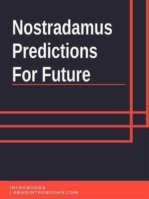 cover image of Nostradamus Predictions  For Future