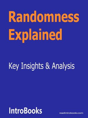 cover image of Randomness Explained