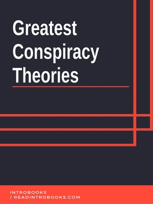 cover image of Greatest Conspiracy  Theories