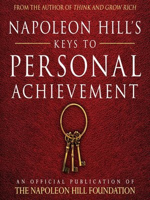 cover image of Napoleon Hill's Keys to Personal Achievement
