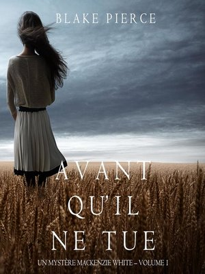 cover image of Avant qu'il ne tue