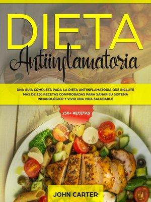 cover image of Dieta Antiinflamatoria