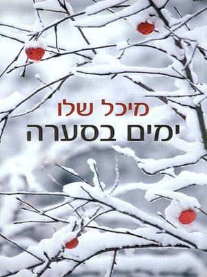 cover image of ימים בסערה - Days in Storm