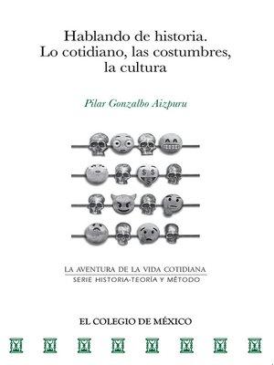 cover image of Hablando de historia.