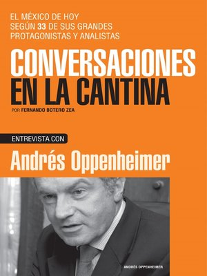 cover image of Andrés Oppenheimer