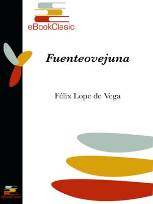 cover image of Fuenteovejuna (Anotado)