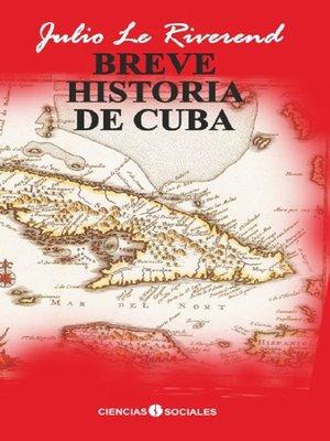 cover image of Breve historia de Cuba