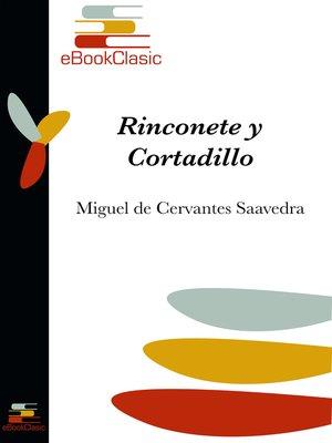 cover image of Rinconete y Cortadillo (Anotado)