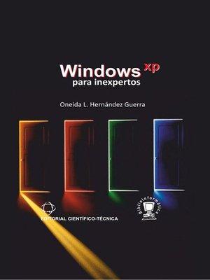 cover image of Windows XP para inexpertos