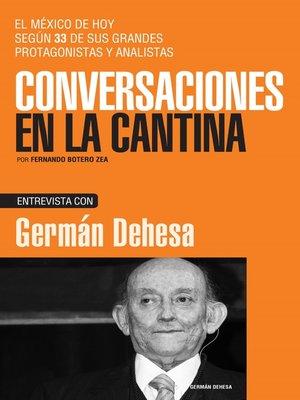 cover image of Germán Dehesa