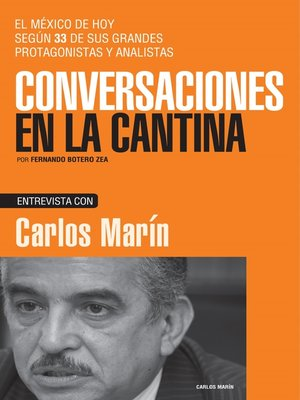 cover image of Carlos Marín