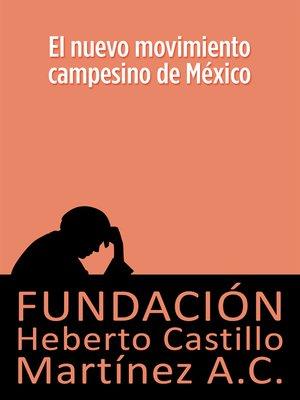 cover image of El nuevo movimiento campesino mexicano
