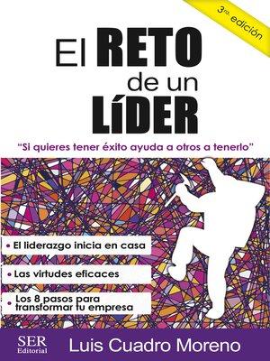 cover image of El reto de un lider