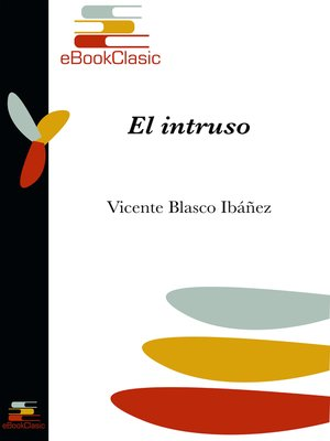 cover image of El intruso (Anotado)