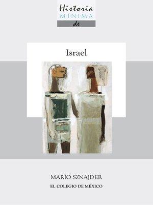 cover image of Historia mínima de Israel