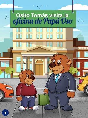 cover image of Osito Tomás vista la oficina de papá