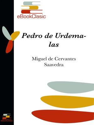 cover image of Pedro de Urdemalas (Anotado)