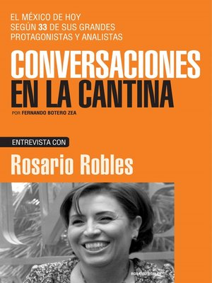 cover image of Rosario Robles
