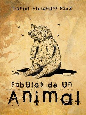 cover image of Fábulas del animal