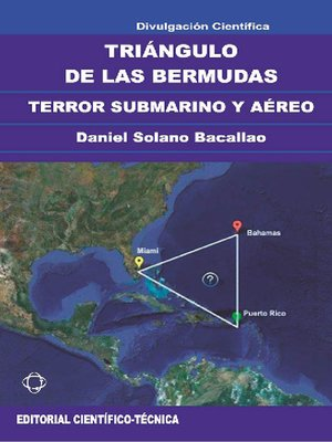 cover image of Triángulo de las Bermudas. Terror submarino y aéreo